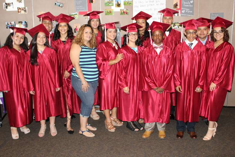 6699443870 Congratulations to our 13 students who graduated on June 17