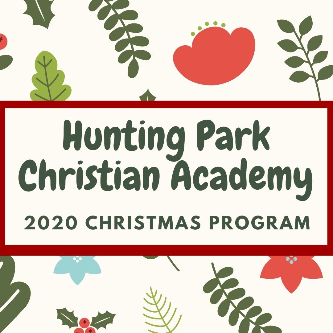 2020 Christmas Program