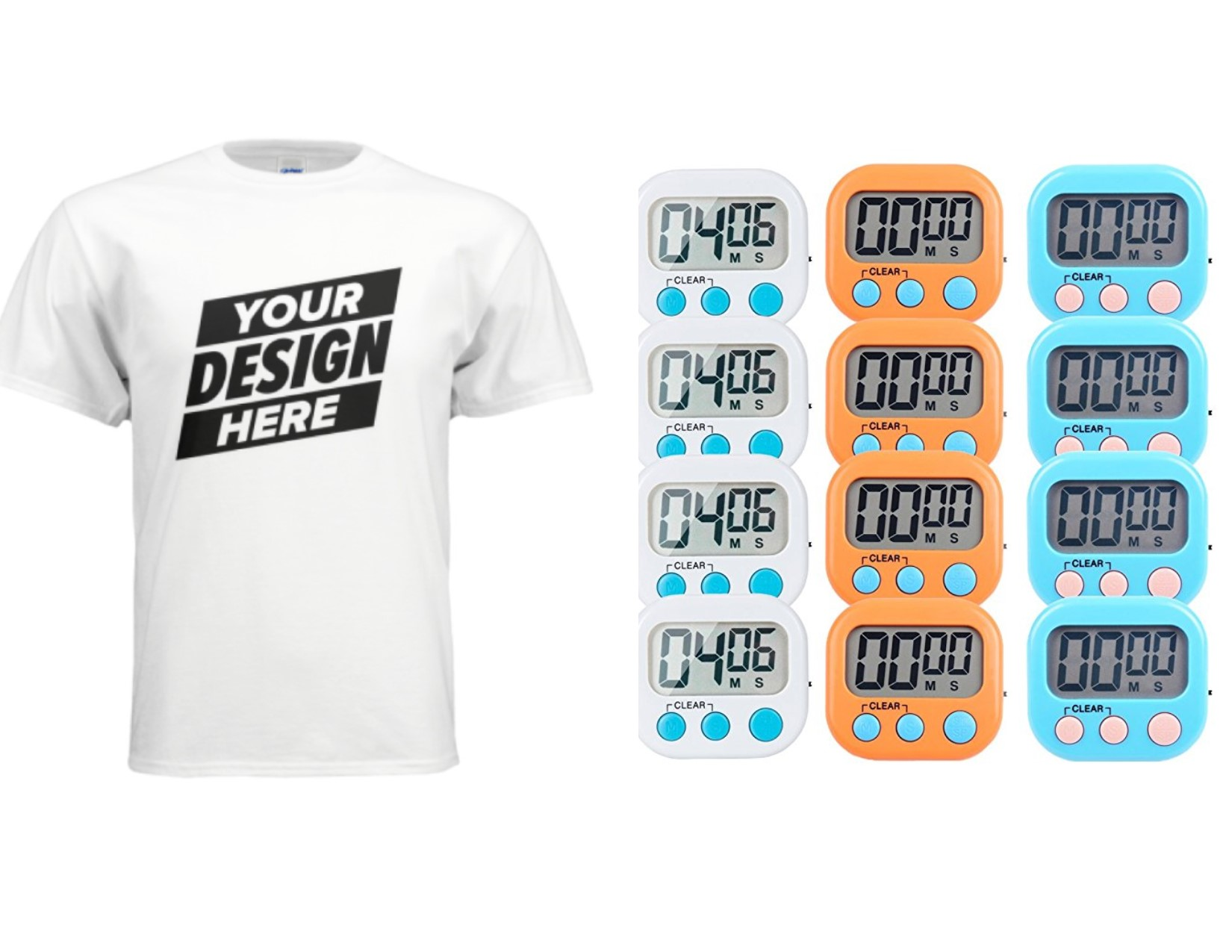 T-shirt and Timers