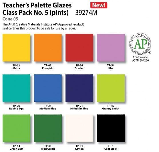 Class Pack of Pottery Glaze
