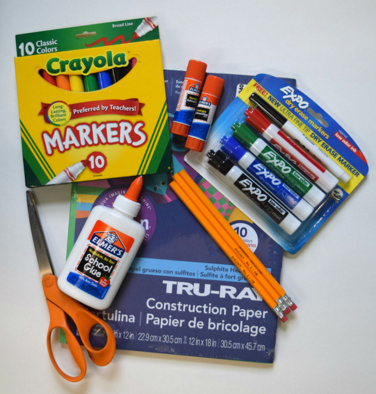 school supplies for hunting park christian academy